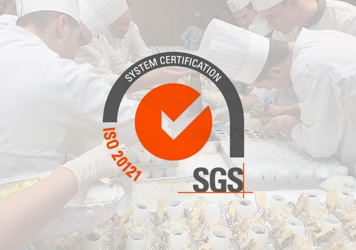 Helen, traiteur certifié ISO 20121