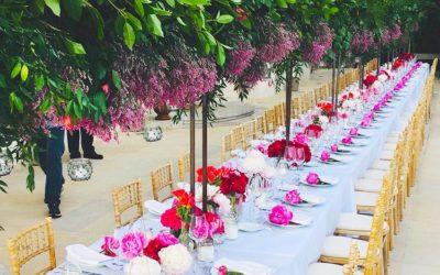 Soirée événementielle à la villa Gaby et menu sur le thème de l'hibiscus