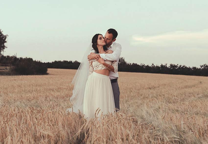 Kaa Couture, créatrice de robes de mariées pleine d'amour